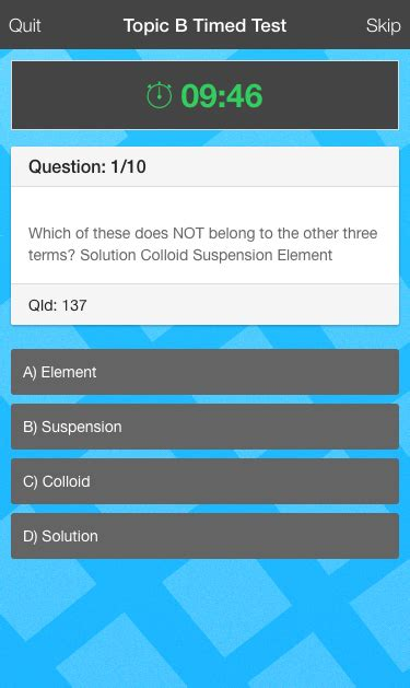 quizionic a quiz app template for ionic framework with