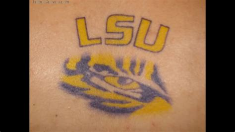 lsu tattoos hd korean tiger best design ideas