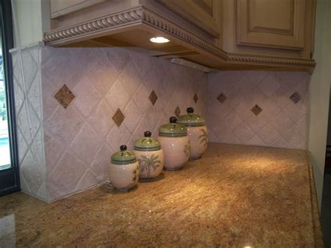 diamond pattern backsplash ideas travertine diagional kitchen backsplash and our
