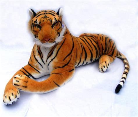large stuffed stuffed tiger animal big orange tiger plush large 45