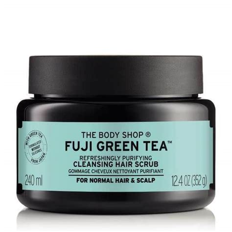 30 Day Hair Detox Product Recommendations by Gommage Cheveux Nettoyant Purifiant Fuji Green Tea