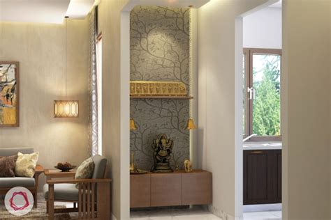 Interior Design Mandir Home celestial design 4 pooja room lights that are divine