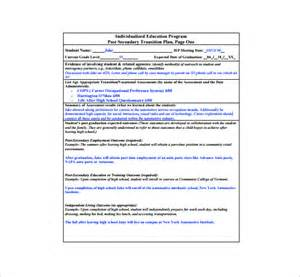 service transition plan template 11 transition plan templates free sle exle
