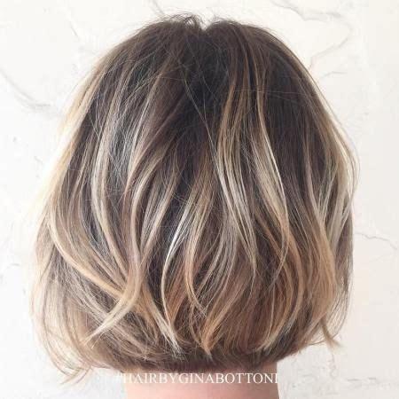 Mellan Långa Frisyrer 2016 by 40 On Trend Balayage Hair Looks Bobbade Frisyrer