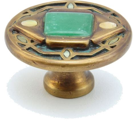 Green Knobs And Pulls by Schaub And Company Shop 959k Dgw Cabinet Knobs