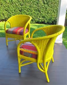 Outdoor Furniture Yard Sale 25 Best Ideas About Painting Wicker Furniture On