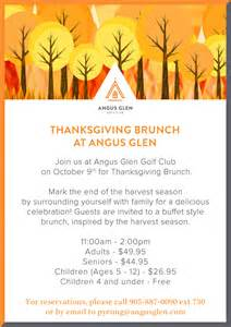 tt thanksgiving hours thanksgiving brunch angus glen