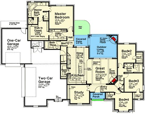 european house plans one story one story european house plan 48563fm architectural