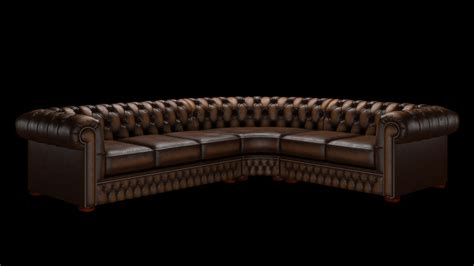 corner chesterfield sofa inadam furniture classic chesterfield corner sofa 3 x 2 available is different leathers sizes