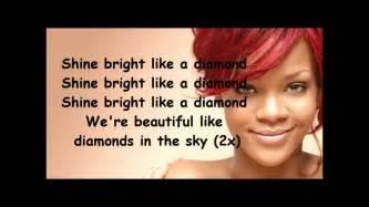 Rihanna diamonds lyrics youtube