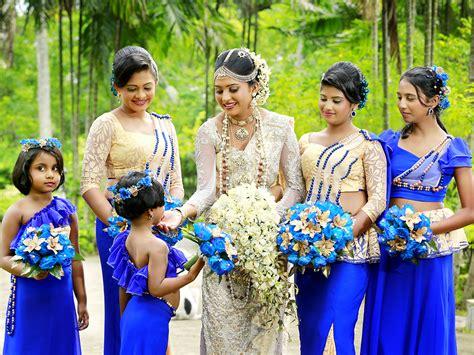wedding colour themes sri lanka western salon happy lady