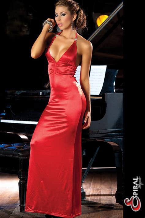 Longdress Kasandra abito rosso lungo da sera
