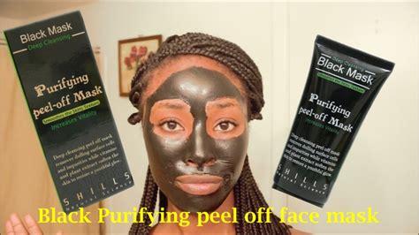 Shills Black Mask Purifying Peel Mask Berkualitas 1 real about shills cleansing mask demo review