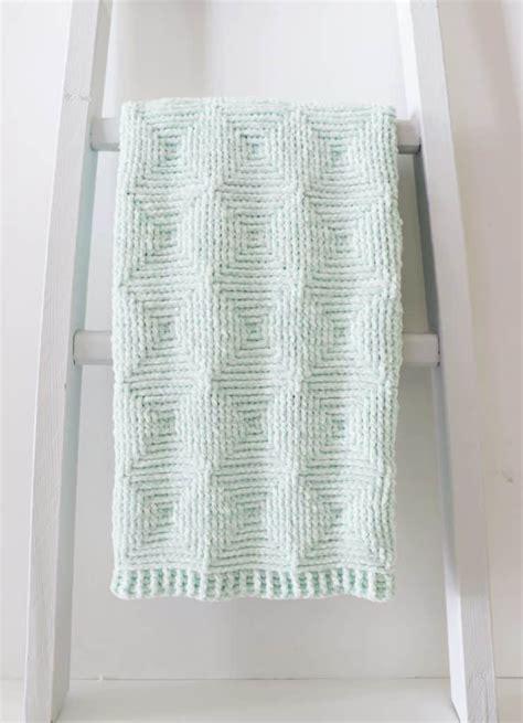crochet ribbed diamond blanket daisy farm crafts