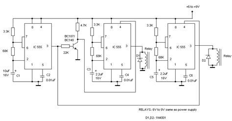 alternating flasher circuit diagram the circuit