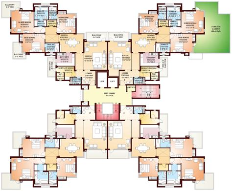terrace towers floor plans parsvnath exotica gurgaon discuss rate review comment