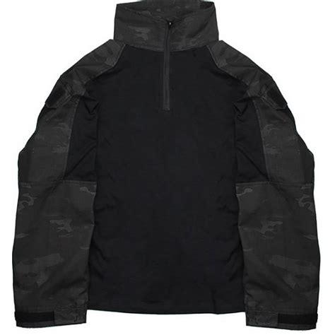 Combat Shirt Black tmc gen3 combat shirt multicam black