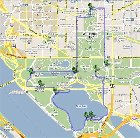 map of dc monuments walking map of washington dc monuments pictures to pin on