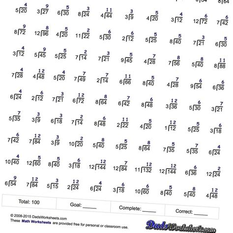 Mad Minute Worksheet by These Division Worksheets Are Extensions To Mad Minute And