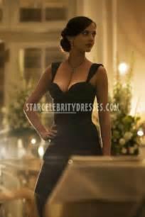 Blue And Purple Wedding Eva Green Black Mermaid Evening Dress In Casino Royale Starcelebritydresses