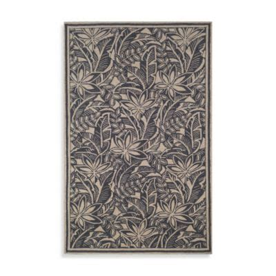 all about storage baker la la baker rug by bahama in black bed bath and