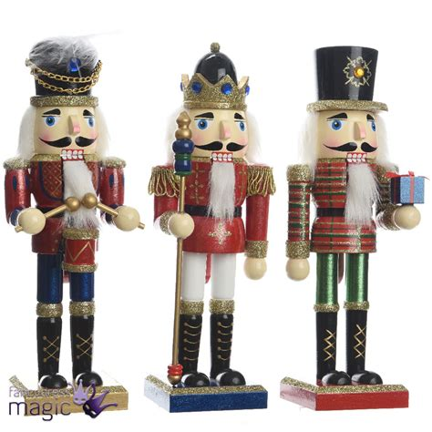 kaemingk wood traditional soldier nutcracker christmas