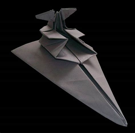 Origami Space Ship - wars spaceship origami martin hunt 9 123 inspiration