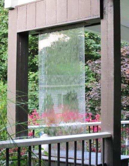 relaxing water wall ideas   backyard  indoor