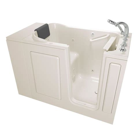 american standard walk in bathtub american standard gelcoat premium series 4 ft walk in