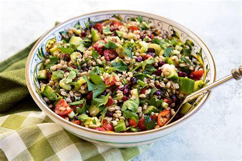 Hearty Detox Salad by Hearty Detox Farro Salad Italian Food Forever Carmela