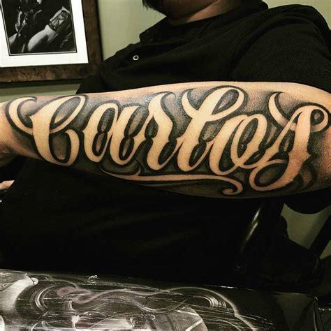 tatuajes de nombres en el brazo 191 conoces su origen