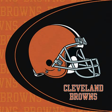 Cleveland Browns by Cheap Cleveland Browns Lunch Napkins At Go4costumes