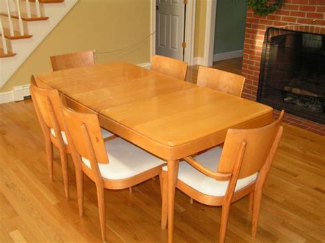 awesome dining room tables awesome heywood wakefield dining table and chairs 61 on
