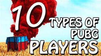 pubg player count 10 types of pubg players youtube