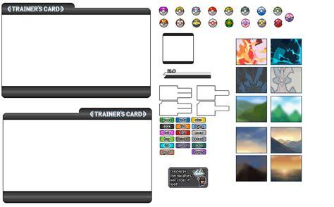 Trainer Card Template Deviantart by Trainer Card Template 2 0 By Thecynicalpoet On Deviantart