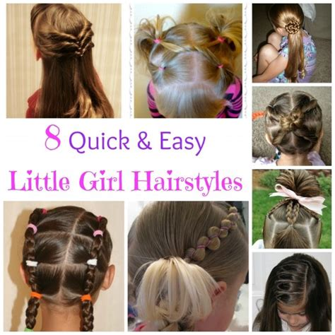 girl hairstyles quick 8 quick and easy little girl hairstyles bath and body