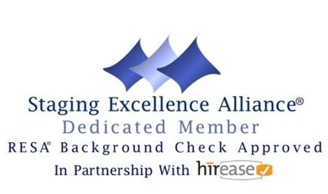 Hirease Background Check Staging Excellence Alliance With Background Checks Homestagingnewswire