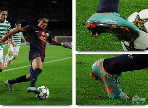 alexis sanchez nike boot spots from the weekend surprises in the chions