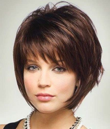 how to layer own hair for small chin short layered crop with bangs with regard to your own head