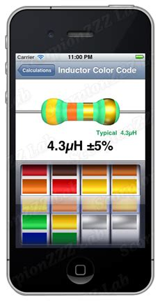 inductor calculator color code image gallery inductor color code