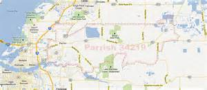 Parrish Florida Map by Parrish Florida 34219