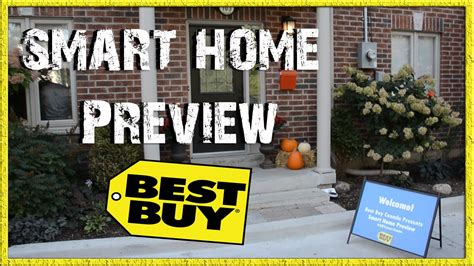 best buy smart home preview home security and automation