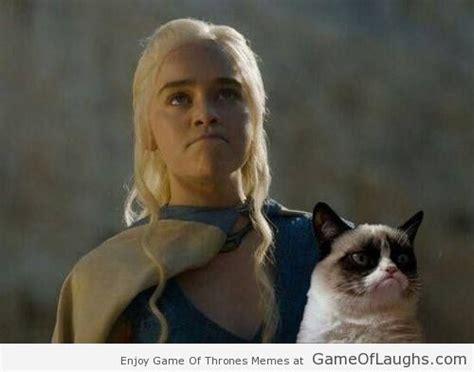 Khaleesi Meme - khaleesi and the grumpy cat game of laughs