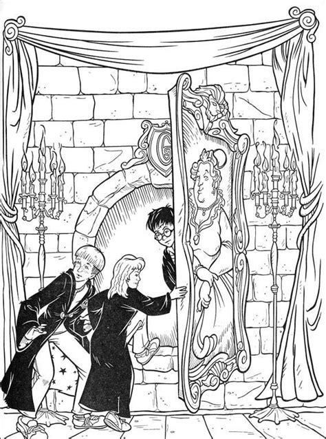 harry potter the coloring book harry potter coloring pages allkidsnetwork