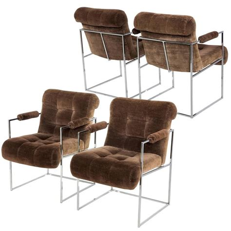 lounge chairs on sale set of four milo baughman brown lounge chairs by thayer