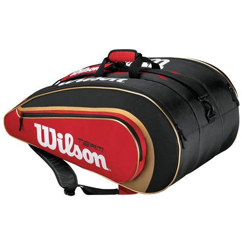 Raket Tenis Tennis Wilson Three Blx wilson team ii blx six racket bag sweatband