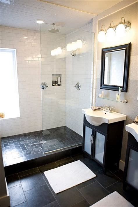 dark bathroom floor tile 17 best images about ideas for guest bathroom w black