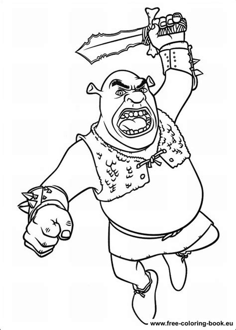 shrek coloring pages online coloring pages shrek page 3 printable coloring pages