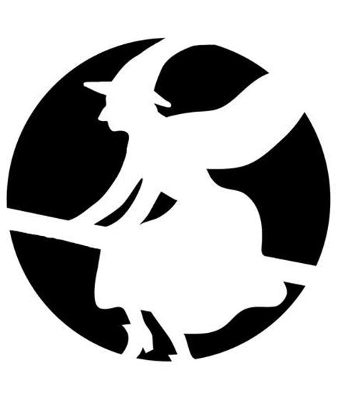 witch pumpkin template need a pumpkin stencil here s 10 you can now