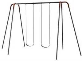 swing custom component 12 modern tripod swingset single bay